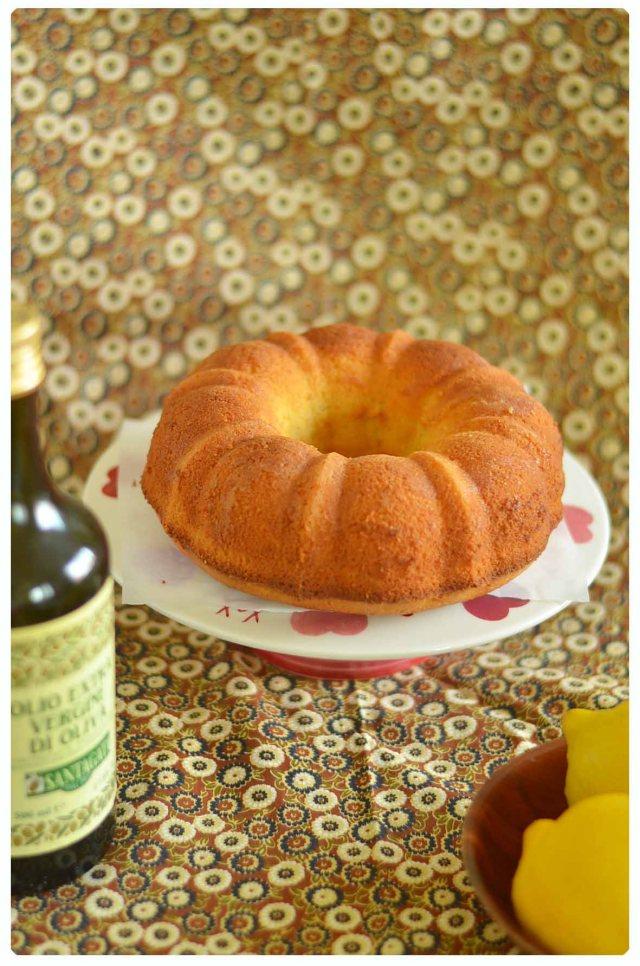 lemon olive oil cake 2