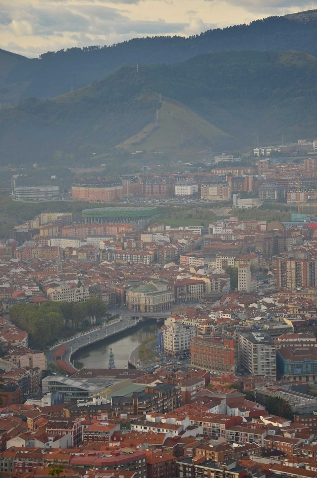 Bilbao from the top